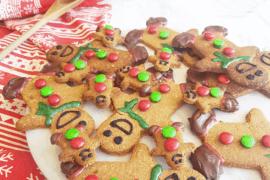 Protein Gingerbread Men Recipe tn