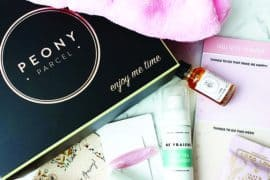 Peony Parcel In Bloom Subscription Box Review